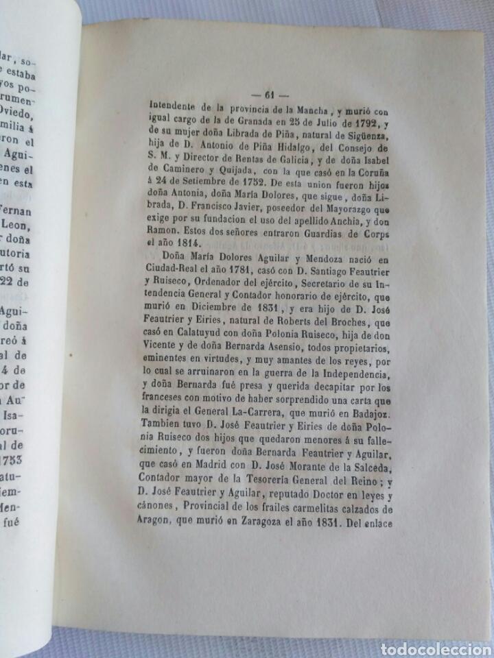 Diccionarios antiguos: Diccionario Histórico Genealógico y Heráldico, D. Luis Vilar y Pascual, 1860 -66. Genealogía. - Foto 221 - 151860282