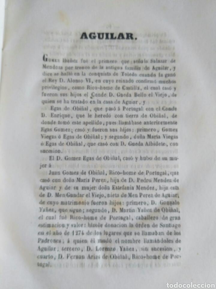 Diccionarios antiguos: Diccionario Histórico Genealógico y Heráldico, D. Luis Vilar y Pascual, 1860 -66. Genealogía. - Foto 228 - 151860282