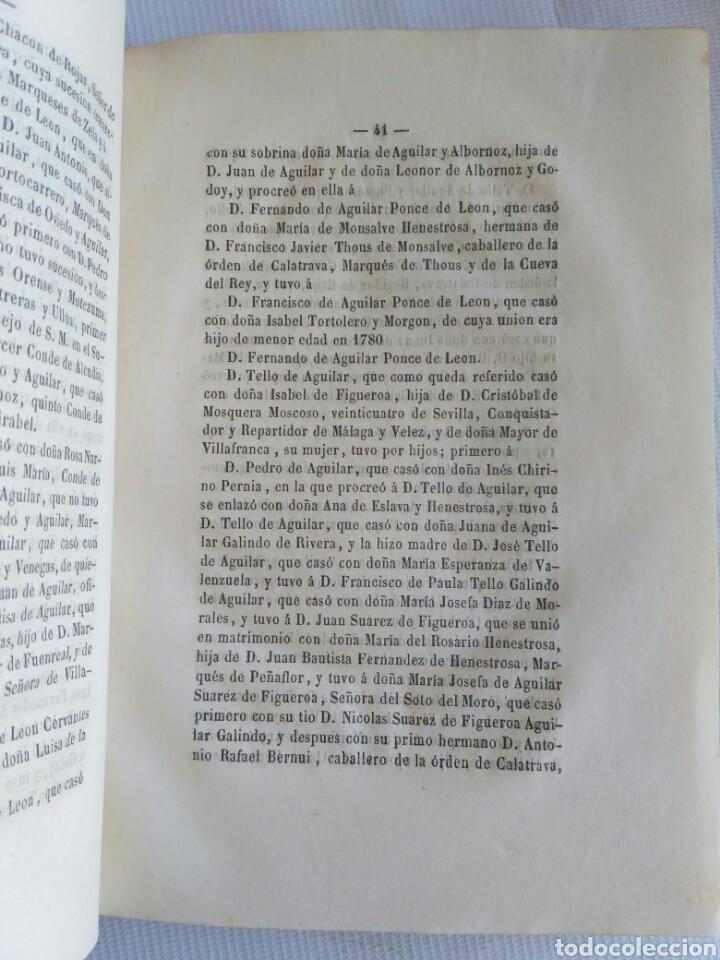 Diccionarios antiguos: Diccionario Histórico Genealógico y Heráldico, D. Luis Vilar y Pascual, 1860 -66. Genealogía. - Foto 238 - 151860282