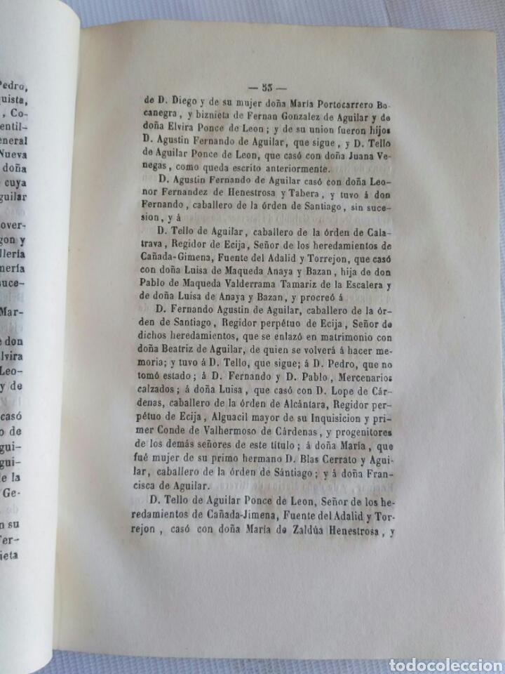 Diccionarios antiguos: Diccionario Histórico Genealógico y Heráldico, D. Luis Vilar y Pascual, 1860 -66. Genealogía. - Foto 241 - 151860282