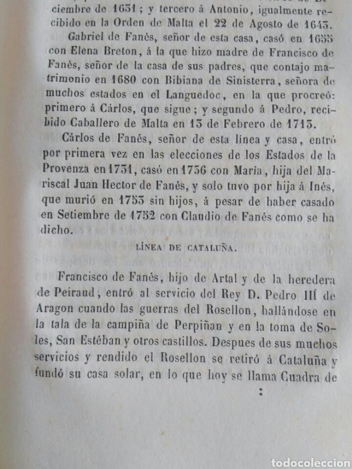 Diccionarios antiguos: Diccionario Histórico Genealógico y Heráldico, D. Luis Vilar y Pascual, 1860 -66. Genealogía. - Foto 242 - 151860282