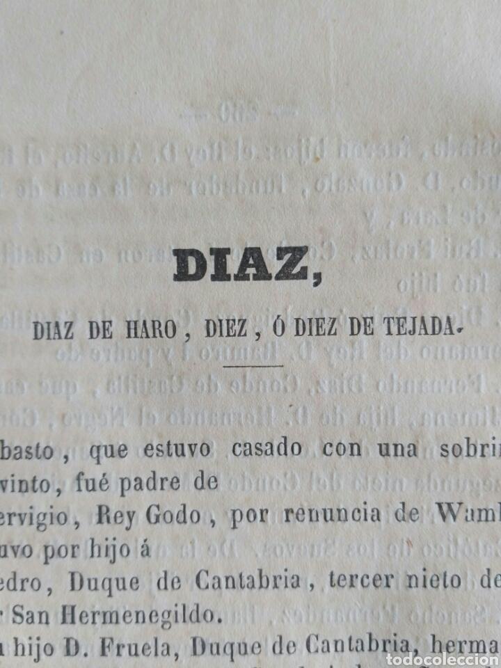 Diccionarios antiguos: Diccionario Histórico Genealógico y Heráldico, D. Luis Vilar y Pascual, 1860 -66. Genealogía. - Foto 243 - 151860282