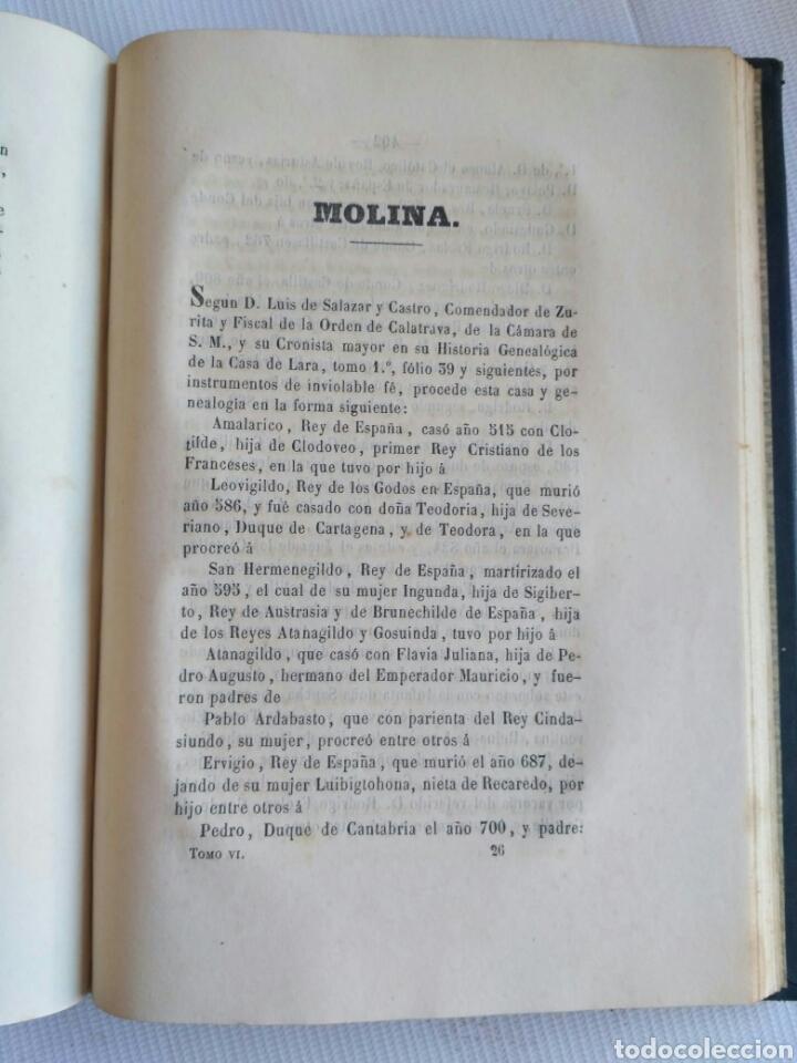 Diccionarios antiguos: Diccionario Histórico Genealógico y Heráldico, D. Luis Vilar y Pascual, 1860 -66. Genealogía. - Foto 248 - 151860282