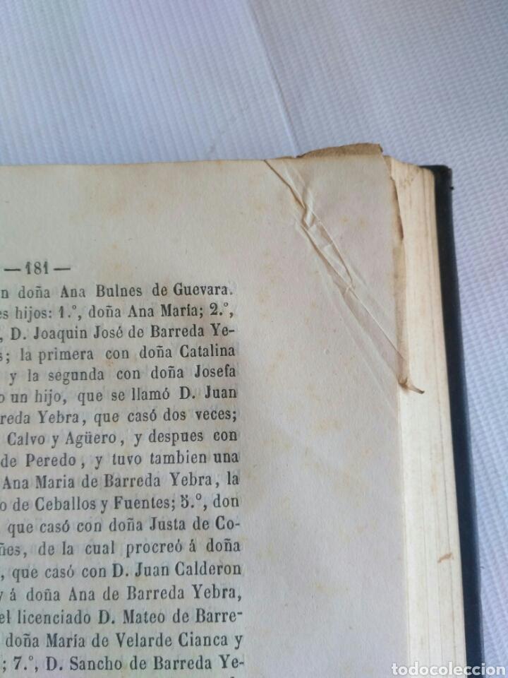 Diccionarios antiguos: Diccionario Histórico Genealógico y Heráldico, D. Luis Vilar y Pascual, 1860 -66. Genealogía. - Foto 250 - 151860282