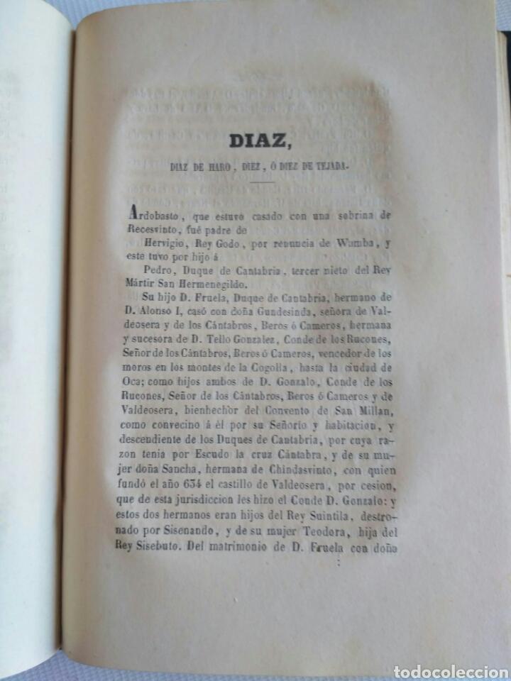Diccionarios antiguos: Diccionario Histórico Genealógico y Heráldico, D. Luis Vilar y Pascual, 1860 -66. Genealogía. - Foto 256 - 151860282