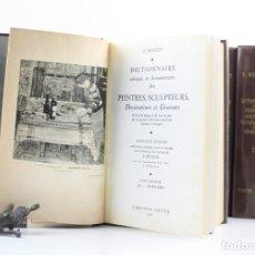 Diccionarios antiguos: DICTIONNAIRE CRITIQUE ET DOCUMENTAIRE, E. BÉNÉZIT, 1966, 8 TOMOS, LIBRAIRIE GRÜND, PARIS. 24,5X17CM. Lote 153064142