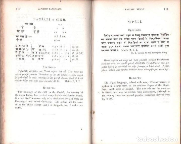 Diccionarios antiguos: LEPSIUS: STANDARD ALPHABET FOR REDUCING UNWRITTEN LANGUAGES AND FOREING GRAPHIC SYSTEMS (1863) - Foto 3 - 153432250