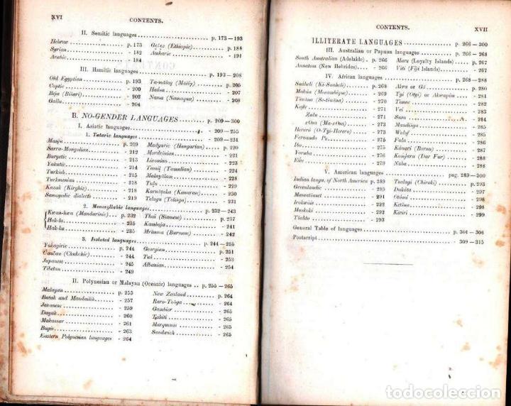 Diccionarios antiguos: LEPSIUS: STANDARD ALPHABET FOR REDUCING UNWRITTEN LANGUAGES AND FOREING GRAPHIC SYSTEMS (1863) - Foto 5 - 153432250