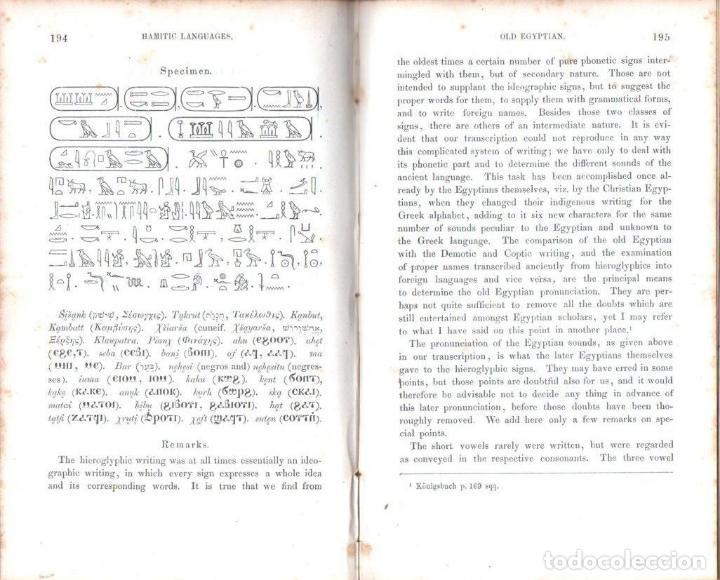 Diccionarios antiguos: LEPSIUS: STANDARD ALPHABET FOR REDUCING UNWRITTEN LANGUAGES AND FOREING GRAPHIC SYSTEMS (1863) - Foto 7 - 153432250