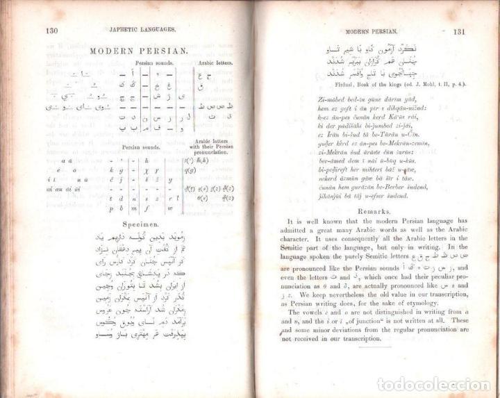 Diccionarios antiguos: LEPSIUS: STANDARD ALPHABET FOR REDUCING UNWRITTEN LANGUAGES AND FOREING GRAPHIC SYSTEMS (1863) - Foto 9 - 153432250
