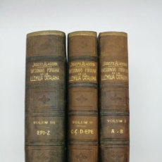 Diccionarios antiguos: DICCIONARI POPULAR DE LA LLENGUA CATALAN 1904 ALABERN. Lote 153842382