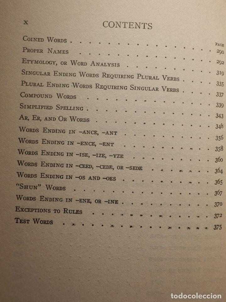 Diccionarios antiguos: Libro - Troublesome Words - 1924 W.L. Mason - Palabras problematicas del Inglés y como usarlas - Foto 7 - 154618418