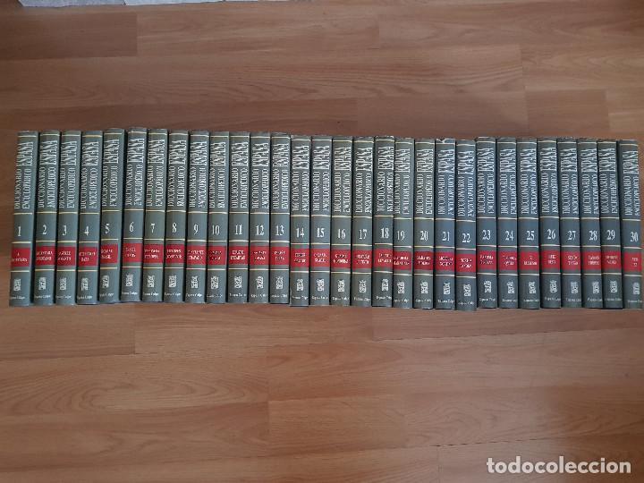 DICCIONARIO ENCICLOPÉDICO ESPASA CALPE-30 TOMOS-EDICIÓN DEL AÑO 1992-EXCELENTE ESTADO. (Libros Antiguos, Raros y Curiosos - Diccionarios)