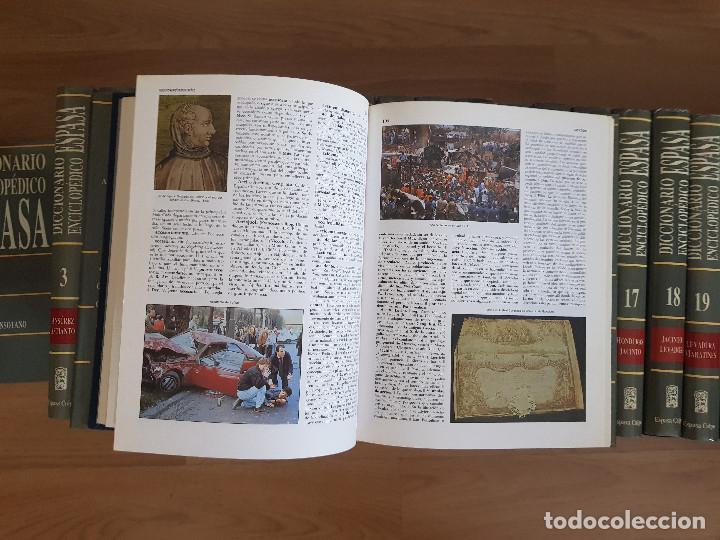 Diccionarios antiguos: DICCIONARIO ENCICLOPÉDICO ESPASA CALPE-30 TOMOS-EDICIÓN DEL AÑO 1992-EXCELENTE ESTADO. - Foto 5 - 155529046