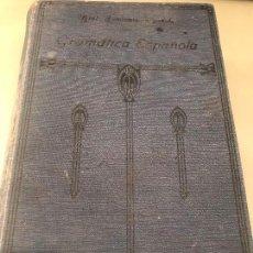Diccionarios antiguos: REAL ACADEMIA ESPAÑOLA. GRAMÁTICA DE LA LENGUA ESPAÑOLA. MADRID, 1924 . Lote 156648714
