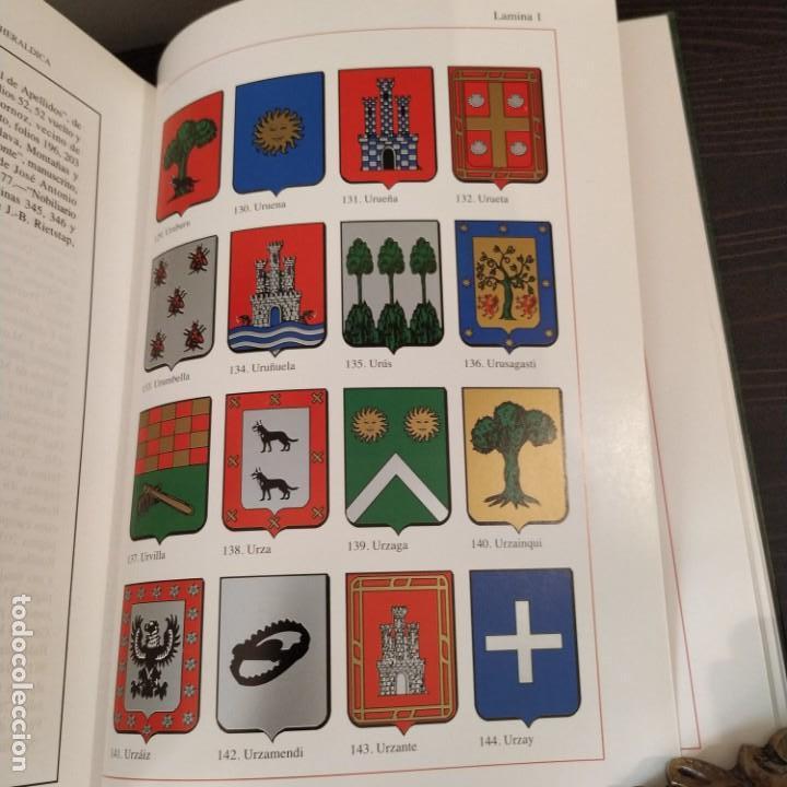 Diccionarios antiguos: DICCIONARIO HISPANOAMERICANO DE HERÁLDICA, ONOMÁSTICA Y GENEALOGÍA - VOLUMEN II - Foto 5 - 156968194