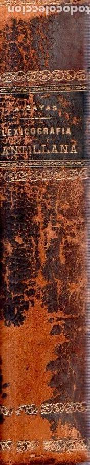 Diccionarios antiguos: LEXICOGRAFIA ANTILLANA. ALFREDO ZAYAS Y ALFONSO. HABANA, SIGLO XX. 1914. - Foto 3 - 159470850