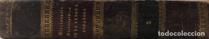 Diccionarios antiguos: DICCIONARIO ENCICLOPEDICO DE LA LENGUA ESPAÑOLA. POR NEMESIO FERNANDEZ. TOMOS I Y II. MADRID, 1864. - Foto 16 - 159950226