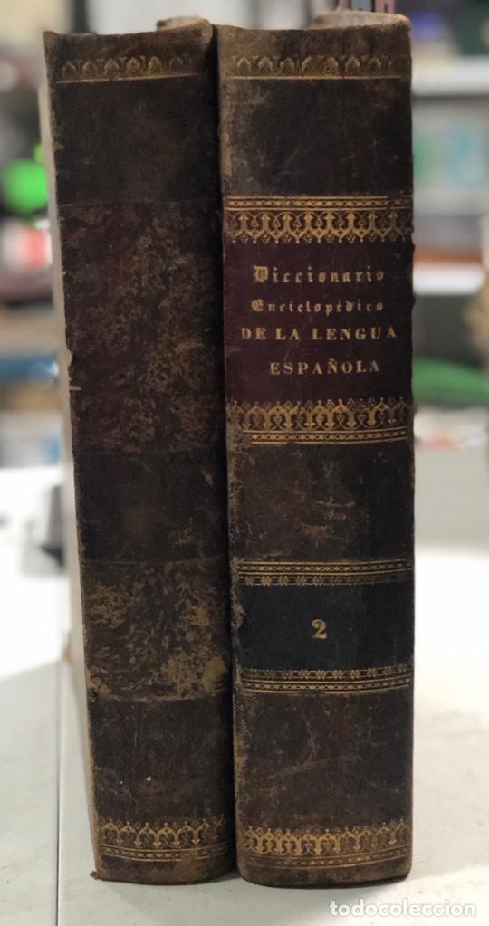 Diccionarios antiguos: DICCIONARIO ENCICLOPEDICO DE LA LENGUA ESPAÑOLA. POR NEMESIO FERNANDEZ. TOMOS I Y II. MADRID, 1864. - Foto 19 - 159950226