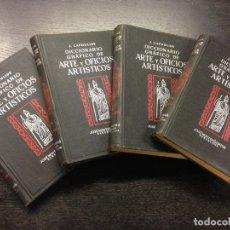 Diccionarios antiguos: DICCIONARIO GRAFICO DE ARTE Y OFICIOS ARTISTICOS, LAPOULIDE, J., 1932 (4 TOMOS). Lote 166597950