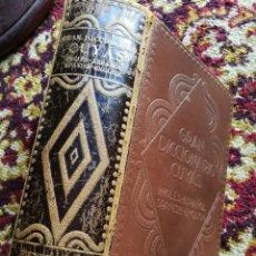 Libri antichi: BONITO GRAN DICCIONARIO CUYAS-INGLES ESPAÑOL-ESPAÑOL INGLES, EDICIONES HYMSA 1936.(5000 EJEMPLARES).. Lote 167846108