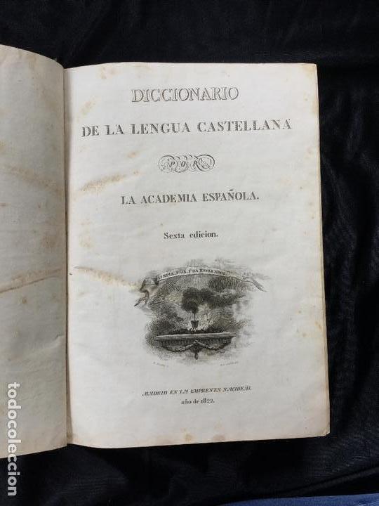 Diccionarios antiguos: Diccionario de la lengua castellana. - Foto 2 - 168181320