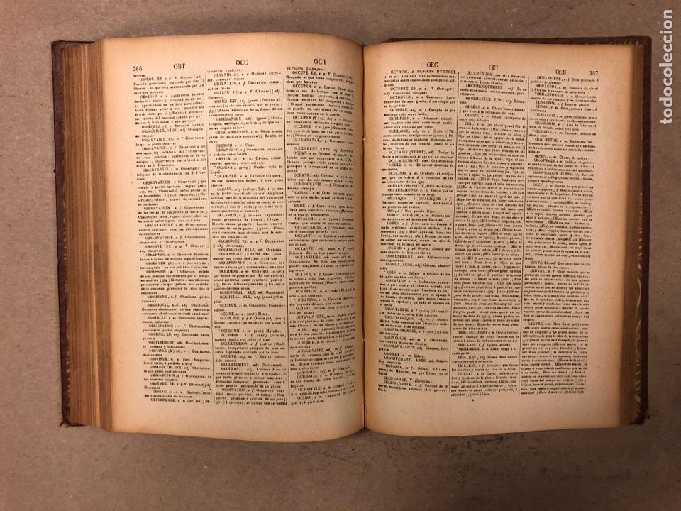 Diccionarios antiguos: NOVISIMO DICCIONARIO FRANCÉS - ESPAÑOL y ESPAÑOL- FRANCÉS. 2 TOMOS. NUÑEZ DE TABOADA. 1909. - Foto 8 - 168208244