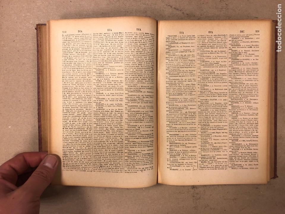 Diccionarios antiguos: NOVISIMO DICCIONARIO FRANCÉS - ESPAÑOL y ESPAÑOL- FRANCÉS. 2 TOMOS. NUÑEZ DE TABOADA. 1909. - Foto 15 - 168208244