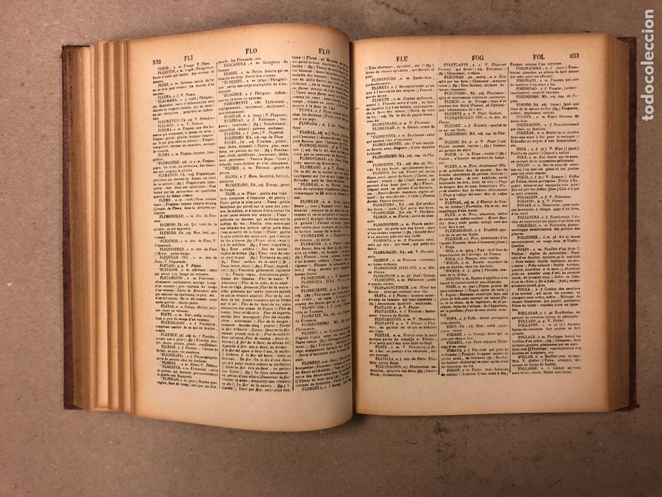Diccionarios antiguos: NOVISIMO DICCIONARIO FRANCÉS - ESPAÑOL y ESPAÑOL- FRANCÉS. 2 TOMOS. NUÑEZ DE TABOADA. 1909. - Foto 16 - 168208244