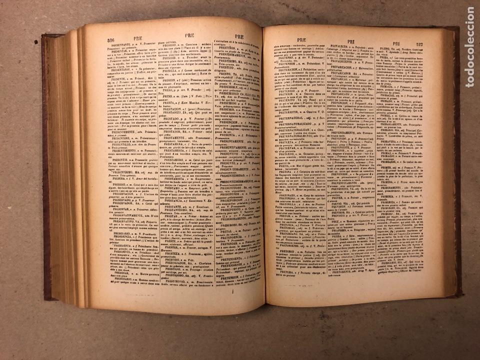 Diccionarios antiguos: NOVISIMO DICCIONARIO FRANCÉS - ESPAÑOL y ESPAÑOL- FRANCÉS. 2 TOMOS. NUÑEZ DE TABOADA. 1909. - Foto 17 - 168208244
