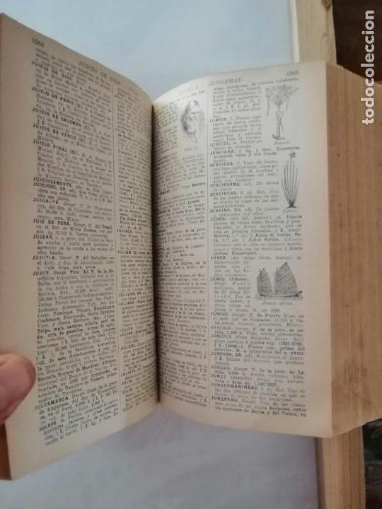Diccionarios antiguos: DICCIONARIO ENCICLOPÉDICO ILUSTRADO DE LA LENGUA ESPAÑOLA - POR DON JOSE ALEMANY Y BOLUFER.1934 - Foto 8 - 169112440