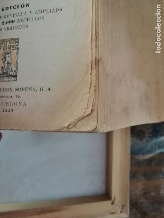 Diccionarios antiguos: DICCIONARIO ENCICLOPÉDICO ILUSTRADO DE LA LENGUA ESPAÑOLA - POR DON JOSE ALEMANY Y BOLUFER.1934 - Foto 10 - 169112440