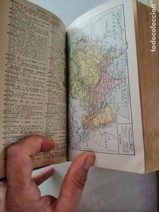 Diccionarios antiguos: DICCIONARIO ENCICLOPÉDICO ILUSTRADO DE LA LENGUA ESPAÑOLA - POR DON JOSE ALEMANY Y BOLUFER.1934 - Foto 11 - 169112440