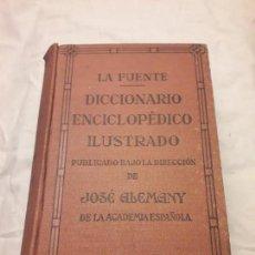 Diccionarios antiguos: ANTIGUO DICCIONARIO ENCICLOPÉDICO ILUSTRADO DE LA LENGUA ESPAÑOLA AÑO 1936. Lote 169282984