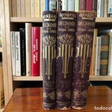 Diccionarios antiguos: DICCIONARI DE LA LLENGUA CATALANA. 3 VOLUMS. BARCELONA: SALVAT Y COMPª, S EN C, EDITORS 1910. Lote 169461272