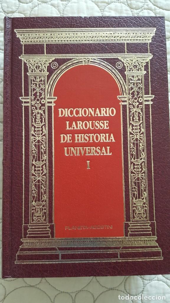 DICCIONARIO LAROUSSE DE HISTORIA UNIVERSAL (Libros Antiguos, Raros y Curiosos - Diccionarios)