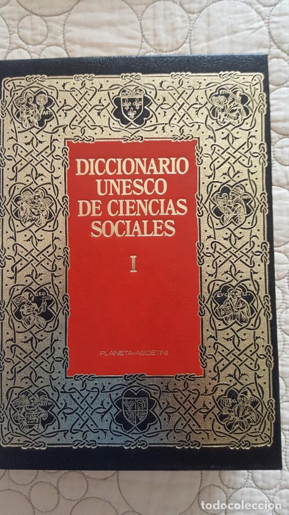 DICCIONARIO UNESCO DE CIENCIAS SOCIALES (Libros Antiguos, Raros y Curiosos - Diccionarios)