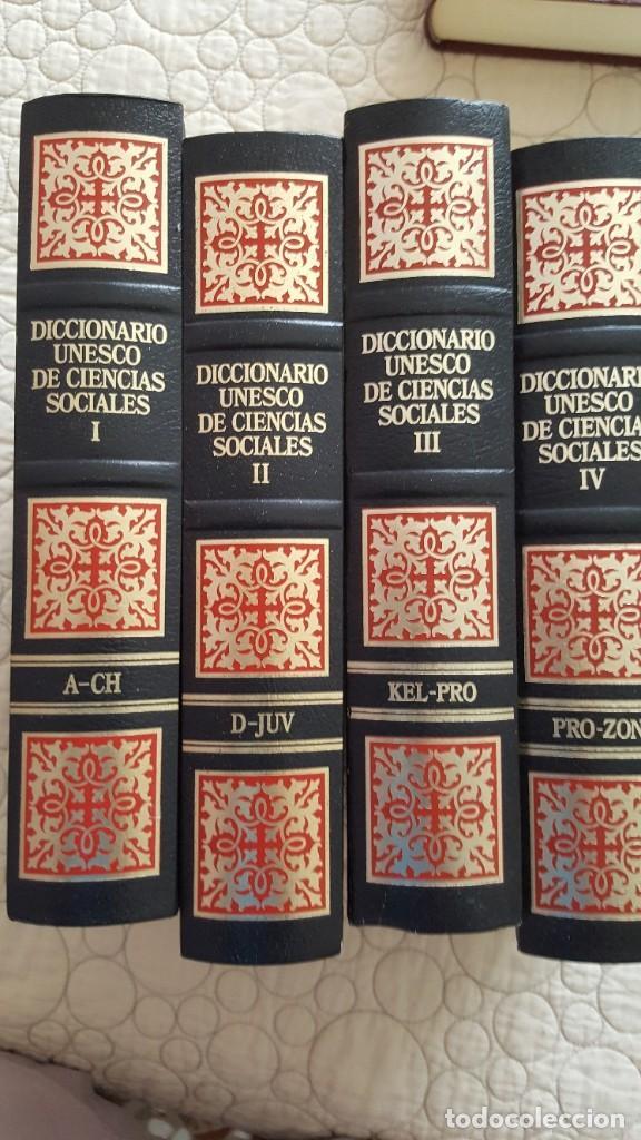 Diccionarios antiguos: DICCIONARIO UNESCO DE CIENCIAS SOCIALES - Foto 2 - 169885232