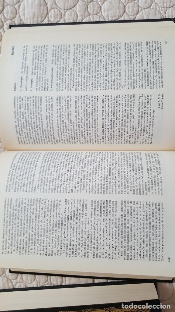 Diccionarios antiguos: DICCIONARIO UNESCO DE CIENCIAS SOCIALES - Foto 3 - 169885232