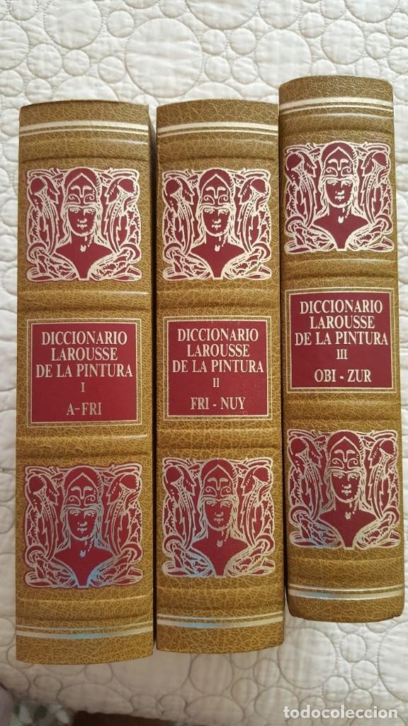 Diccionarios antiguos: DICCIONARIO LAROUSSE DE LA PINTURA - Foto 2 - 169885312