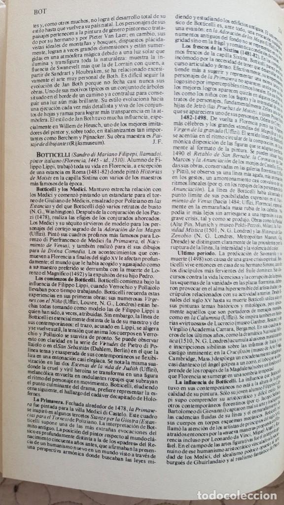 Diccionarios antiguos: DICCIONARIO LAROUSSE DE LA PINTURA - Foto 3 - 169885312