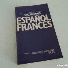 Diccionarios antiguos: MAGNIFICO DICCIONARIO ESPAÑOL FRANCES VOX . Lote 170426516