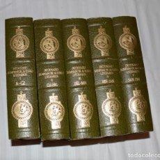 Diccionarios antiguos: DICCIONARIO BOMPIANI DE AUTORES LITERARIOS,5 TOMOS.. Lote 172090823
