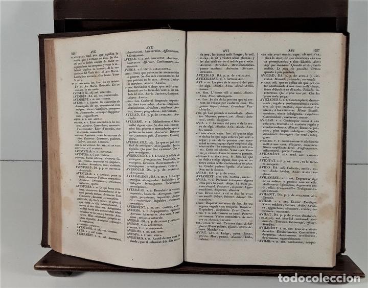 Diccionarios antiguos: DICCIONARI CATALÁ-CASTELLÁ-LLATÍ-FRANCES-ITALIÁ. 2 TOMOS. IMP. J. TORNER. 1839. - Foto 4 - 172295137