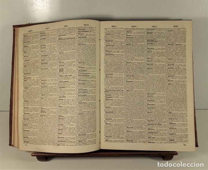 Diccionarios antiguos: DICCIONARIO ENCICLOPÉDICO DE LA LENGUA ESPAÑOLA. TOMO I. IMP. GASPAR Y ROIG. 1853. - Foto 6 - 172746078