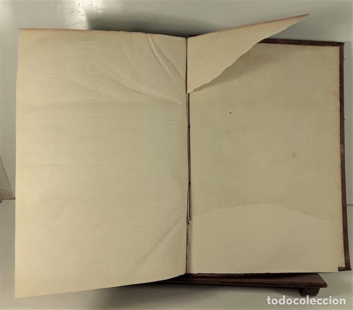 Diccionarios antiguos: DICCIONARIO ENCICLOPÉDICO DE LA LENGUA ESPAÑOLA. TOMO I. IMP. GASPAR Y ROIG. 1853. - Foto 8 - 172746078