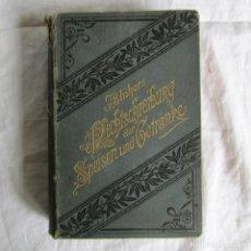 Libri antichi: DICCIONARIO TRILINGUE (ALEMÁN, FRANCÉS, INGLÉS) ORTOGRAFÍA DE ALIMENTOS Y BEBIDAS 1908. Lote 173152148