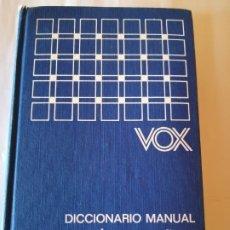 Diccionarios antiguos: DICCIONARIO VOX MANUAL ESPAÑOL FRANCÉS ESPAÑOL EDITORIAL BIBLOGRAF 1969 ISBN 8471531860. Lote 173195532