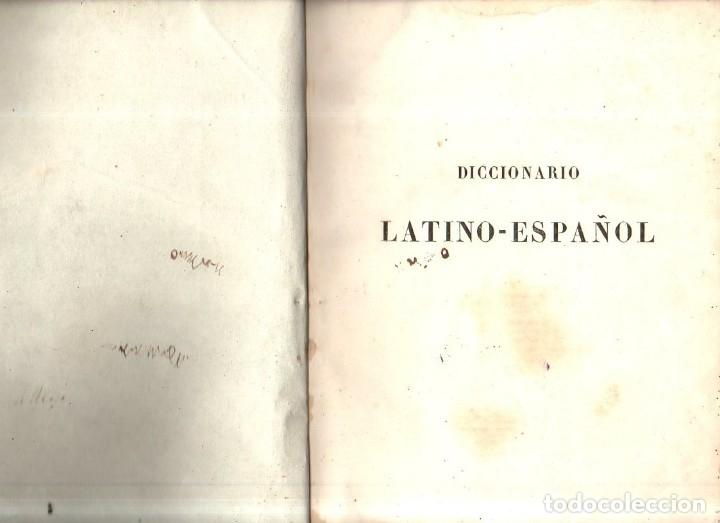 Diccionarios antiguos: DICCIONARIO LATINO- ESPAÑOL. VALBUENA REFORMADO. C. BAILLY- BAILLLIERE. 1851. - Foto 5 - 174061274
