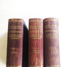 Diccionarios antiguos: DICCIONARIO ENCICLOPÉDICO ABREVIADO. ESPASA CALPE. 1935 DICCIONARIO ENCICLOPÉDICO ABREVIADO. ESPASA. Lote 175353488